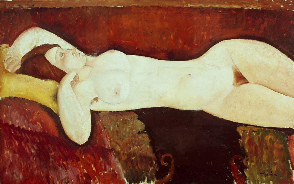 """Amedeo Modigliani """"Liegender Akt – Le Grand Nu"""" 72 x 117""""cm"""