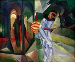 """August Macke """"Pierrot"""" 90 x 75 cm"""