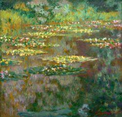 "Claude Monet ""Nympheas -Seerosen"" 92 x 89 cm"