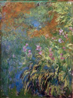 "Claude Monet ""Iris am Teich"" 150 x 200 cm"