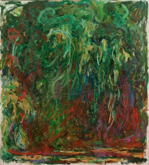 """Claude Monet """"Trauerweide"""" 100 x 110 cm 1"""