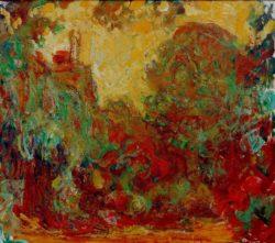 """Claude Monet """"Das Haus des Künstlers"""" 93 x 81 cm"""