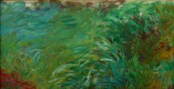 """Claude Monet """"Wasserpflanzen"""" 109 x 56 cm"""