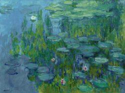 "Claude Monet ""Nympheas -Seerosen"" 185 x 140 cm"