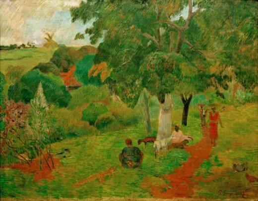 """Paul Gauguin """"Kommen und Gehen, Martinique""""  92 x 73 cm 1"""