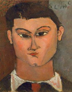 "Amedeo Modigliani ""Bildnis des Malers Moise Kisling"" 37 x 28""cm"