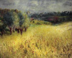 "Auguste Renoir ""Das Kornfeld"" 61 x 50 cm"