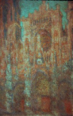 """Claude Monet """"Die Kathedrale von Rouen"""" 66 x 100 cm"""