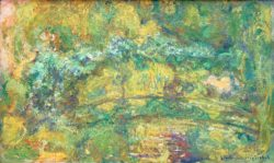 """Claude Monet """"Der Steg über den Seerosenteich"""" 107 x 66 cm"""