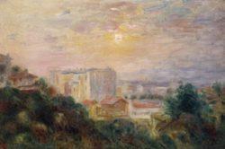 "Auguste Renoir ""Ansicht des Montmartre"" 46 x 30 cm"