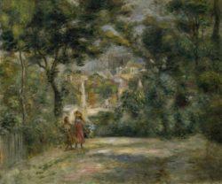 """Auguste Renoir """"Ansicht von Sacre-Coeur"""" 55 x 46 cm"""