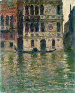 "Claude Monet ""Palazzo Dario in Venedig"" 66 x 81 cm"
