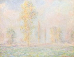 "Claude Monet ""Die Wiese bei Giverny"" 92 x 73 cm"