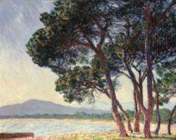 "Claude Monet ""Strand von Juan-les-Pins"" 92 x 73 cm"
