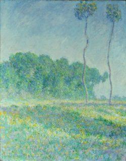 """Claude Monet """"Frühlingslandschaft"""" 73 x 92 cm"""