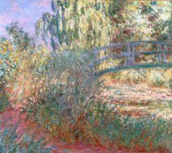"""Claude Monet """"Der Seerosenteich"""" 100 x 89 cm"""
