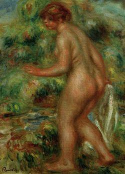 """Auguste Renoir """"Badende"""" 30 x 41 cm"""