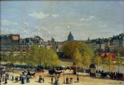 """Claude Monet """"Paris Quai du Louvre"""" 93 x 65 cm"""