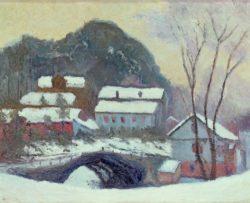 """Claude Monet """"Sandviken Norwegen"""" 61 x 50 cm"""