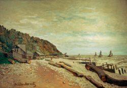 "Claude Monet ""Die Bootswerft bei Honfleur"" 81 x 57 cm"
