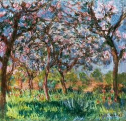"""Claude Monet """"Frühling in Giverny"""" 92 x 90 cm"""