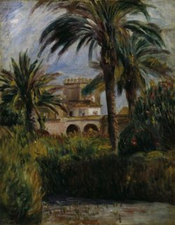 "Auguste Renoir ""Botanischer Garten in Algier"" 33 x 41 cm"