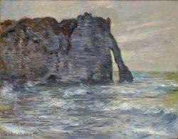 """Claude Monet """"etretat Steilküste und Felsentor"""" 81 x 65 cm"""