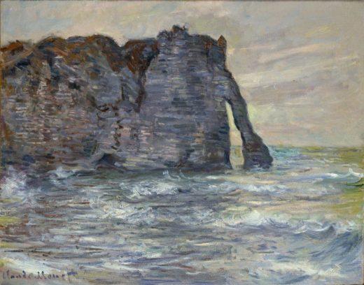 """Claude Monet """"etretat Steilküste und Felsentor"""" 81 x 65 cm 1"""