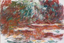 """Claude Monet """"Der Seerosenteich"""" 106 x 73 cm"""