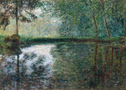 "Claude Monet ""Winkel des Teichs in Montgeron"" 81 x 60 cm"