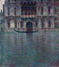 """Claude Monet """"Palazzo Contarini in Venedig"""" 81 x 92 cm"""