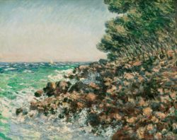 "Claude Monet ""Das Cap Martin"" 81 x 65 cm"