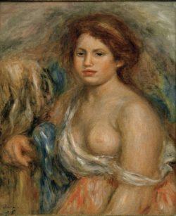 "Auguste Renoir ""Brustbildnis"" 46 x 55 cm"