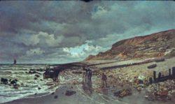 """Claude Monet """"Pointe de la Heve bei Ebbe"""" 150 x 90 cm"""