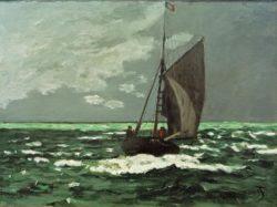 """Claude Monet """"Seestück: Sturm"""" 64 x 48 cm"""