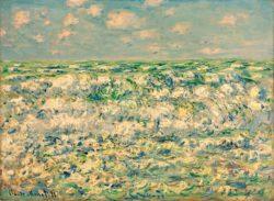 "Claude Monet ""Brechende Wellen"" 81 x 60 cm"