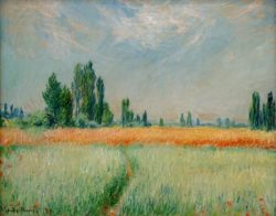 """Claude Monet """"Weizenfeld"""" 81 x 64 cm"""