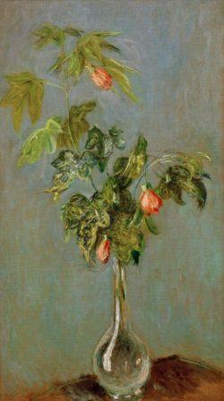 """Claude Monet """"Vase mit Blumen"""" 45 x 80 cm"""