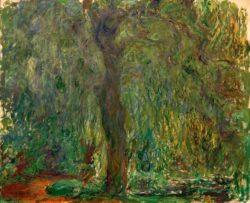 """Claude Monet """"Trauerweide"""" 120 x 100 cm"""