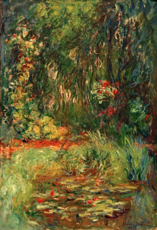 """Claude Monet """"Winkel des Seerosenteiches"""" 88 x 130 cm 1"""