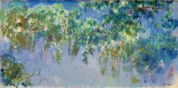 "Claude Monet ""Glyzinien"" 200 x 100 cm"