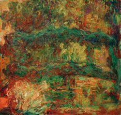 """Claude Monet """"Die Japanische Brücke"""" 92 x 88 cm"""