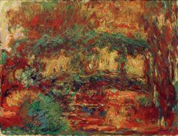 """Claude Monet """"Die Japanische Brücke"""" 116 x 88 cm"""