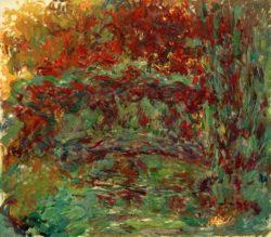 """Claude Monet """"Die japanische Brücke"""" 100 x 89 cm"""