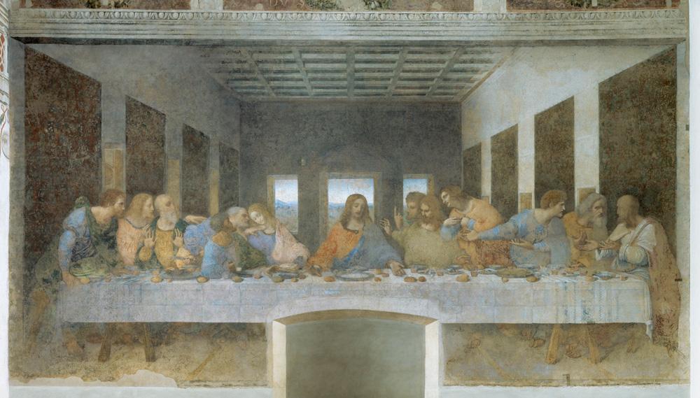 """Leonardo da Vinci """"Das Abendmahl"""" 880 x 460 cm"""
