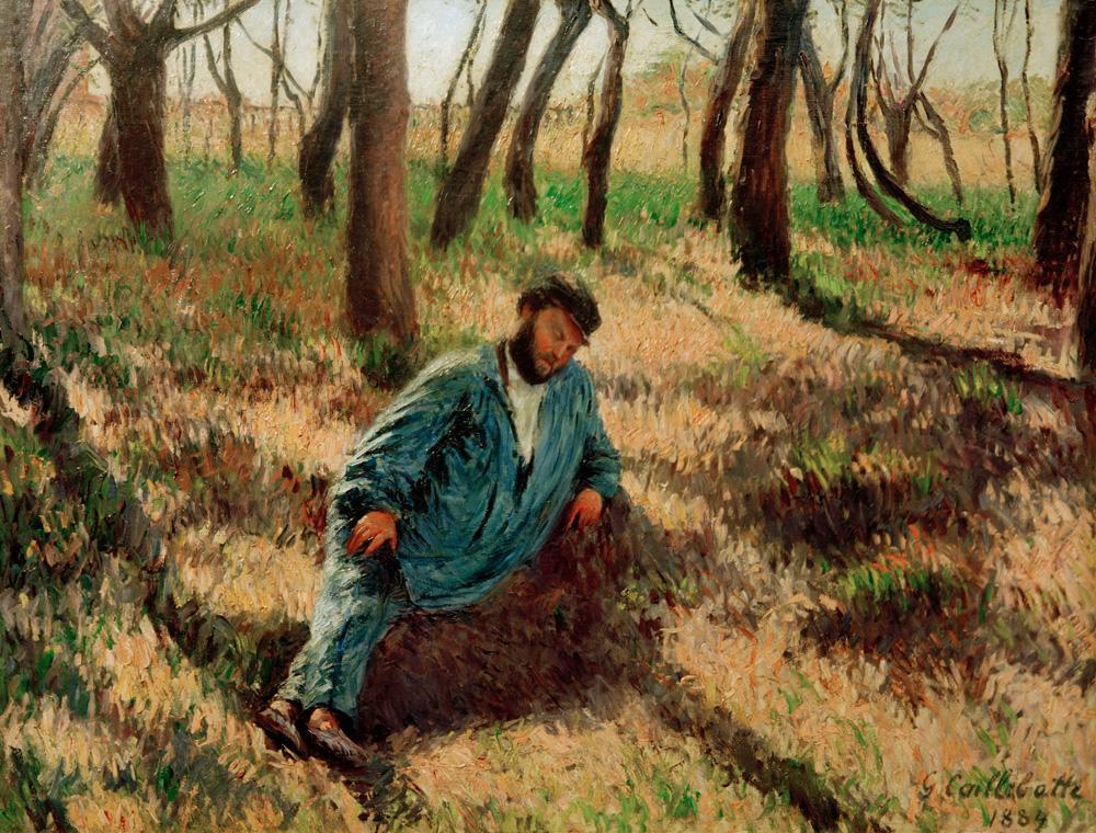 """GustaveCaillebotte """"Le pere Magloire"""" 116 x 69 cm"""