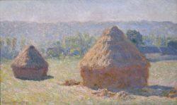"Claude Monet ""Heuhaufen  Spätsommer"" 100 x 60 cm"