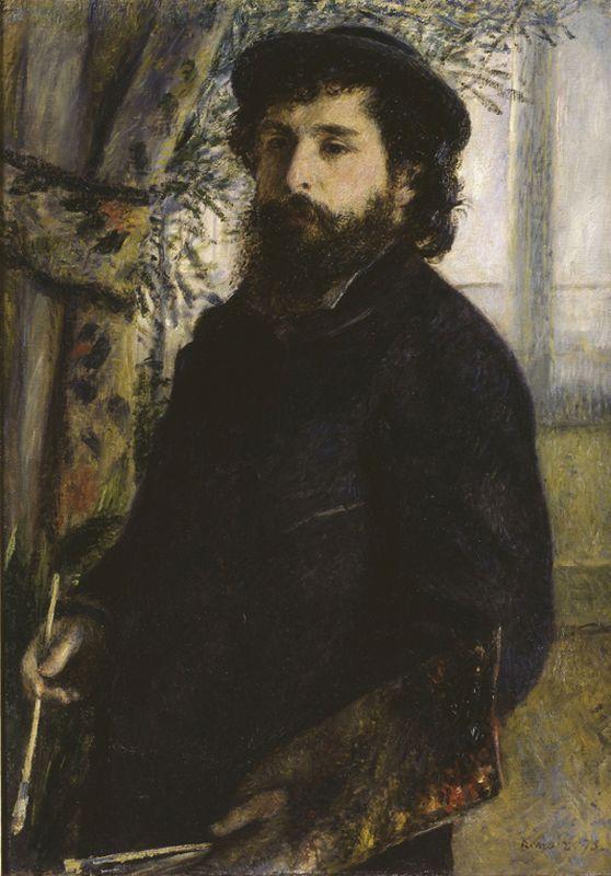"Auguste Renoir ""Claude Monet"" 60 x 85 cm 1"