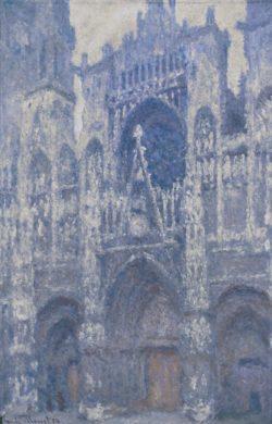 """Claude Monet """"Die Kathedrale von Rouen"""" 72 x 100 cm"""