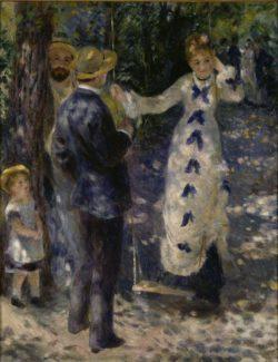 """Auguste Renoir """"Die Schaukel"""" 73 x 92 cm"""